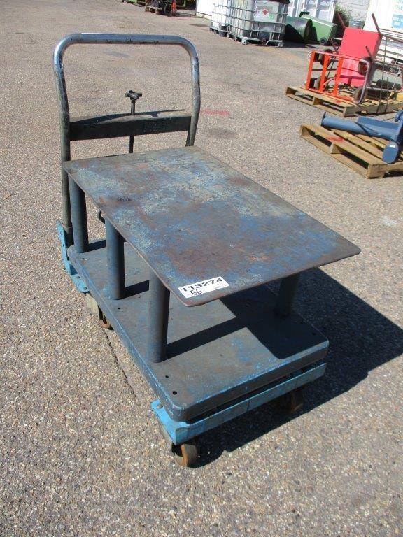 Work Trolley with Hydraulic Lift