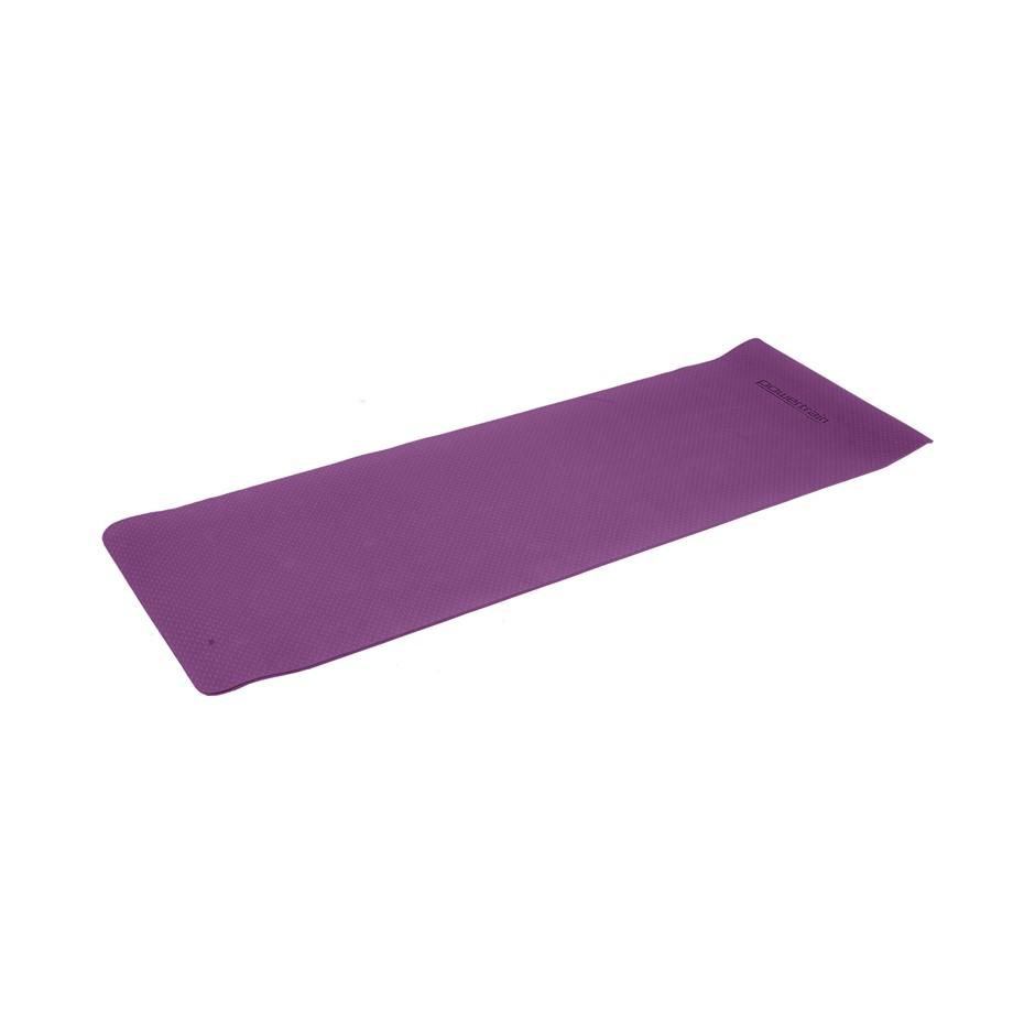 Powertrain Eco Friendly TPE Yoga Exercise Pilates Mat 6mm - Purple