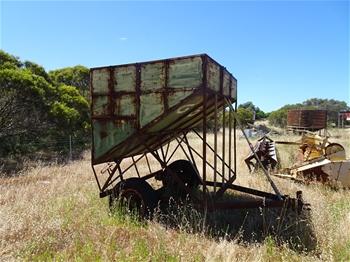 Tow Behind Grain Bin