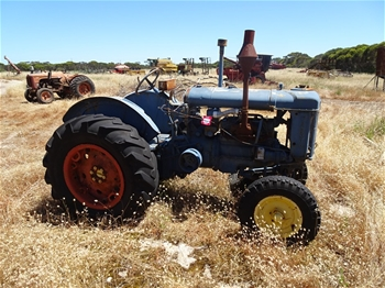Fordson Major Antique Tractor