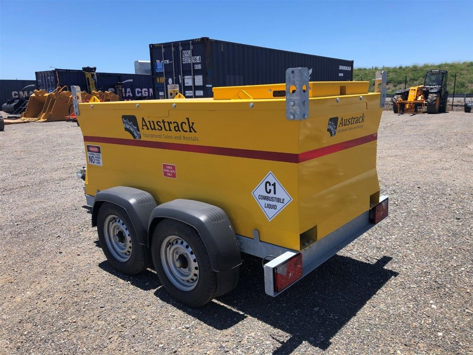 Unused 2020 Austrack Equipment 1300 Litre Bunded Fuel Trailer