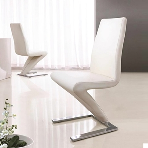 This deluxe designer Z shape dining chai