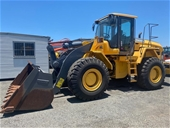 Unreserved Volvo L105 Wheeled loader