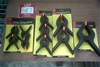 10 x Assorted sized Plastic Spring Clamps. New