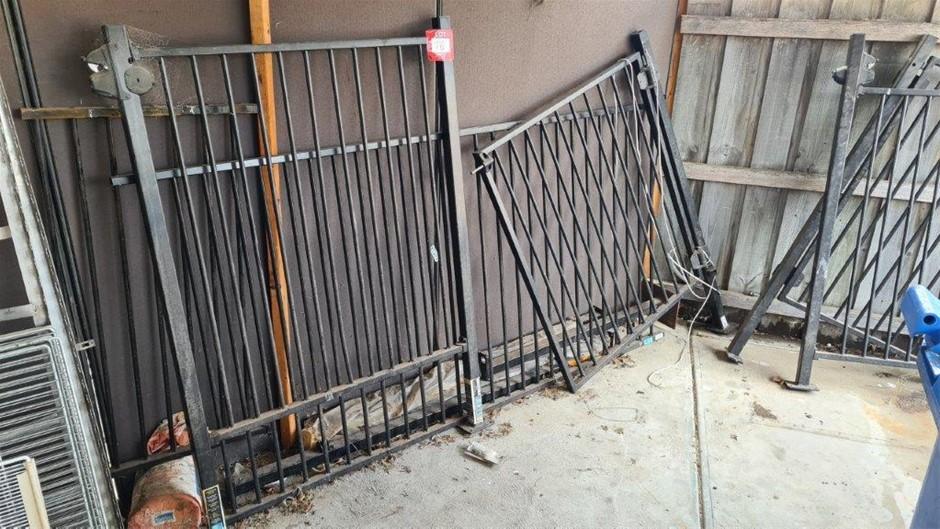 Aluminium Fabricated Fence with Gates