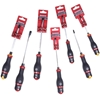 7 x SIDCHROME Screwdrivers, Comprising; Slotted Thru Tang, 5.5mm x 125mm, 6