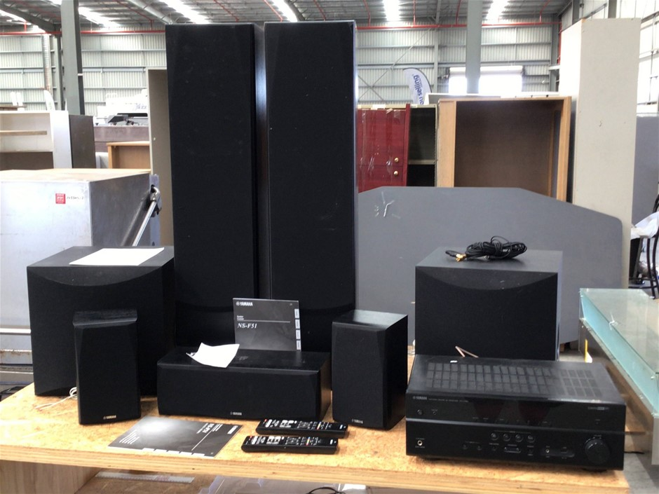 Yamaha Livestage 6300 5.2 Channel Home Theatre System