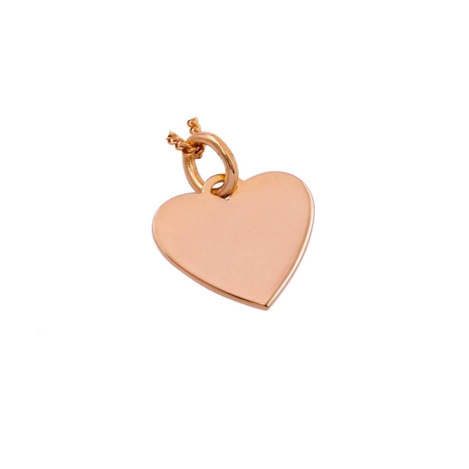 Thomas Sabo Rose Gold Plated Engravable Heart.