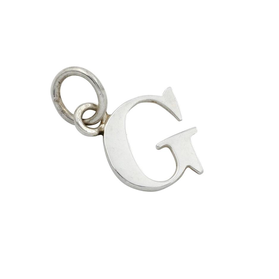 "Thomas Sabo Sterling Silver Letter ""G"" Pendant."