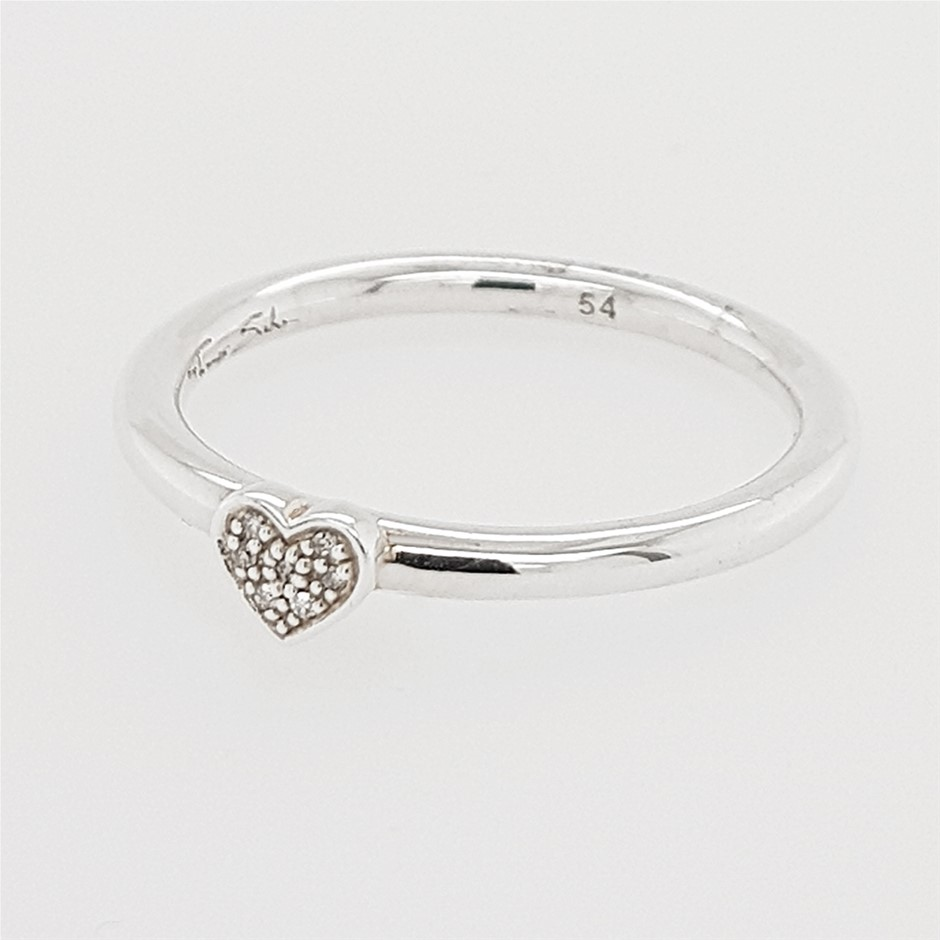 Thomas Sabo Heart Diamond Ring.