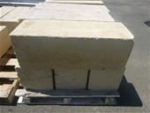 Limestone Blocks, Excavator Bucket & Construction Equip