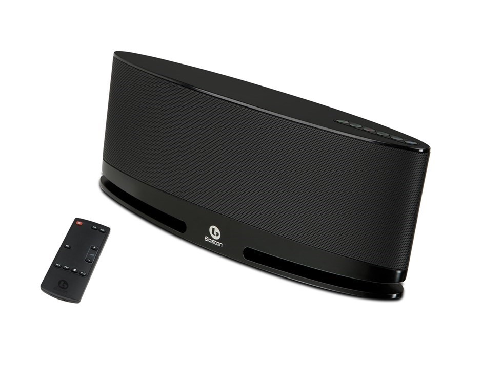 Boston Acoustics MC200 Wireless Speaker System with AirPlay (Black)