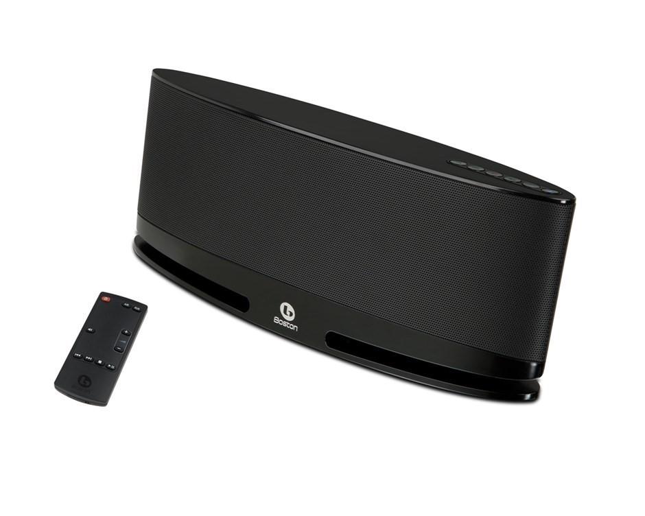 Boston Acoustics MC200 Wireless Speaker System with AirPlay (Black)