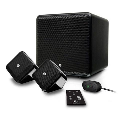 Boston SoundWare XS 2.1 Digital Cinema System (Gloss Black)