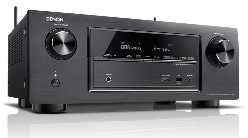 Denon AVR-X2200 7.2CH Full Ultra HD 4K WiFi A/V Receiver (Black)