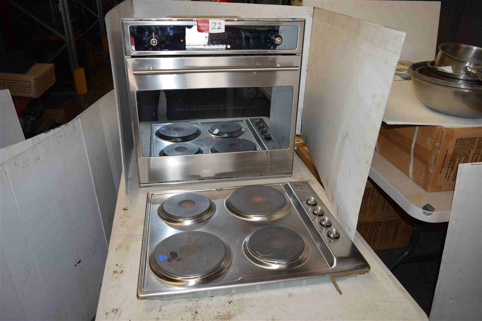 Nobel Electric Built In Oven and Hot Plate
