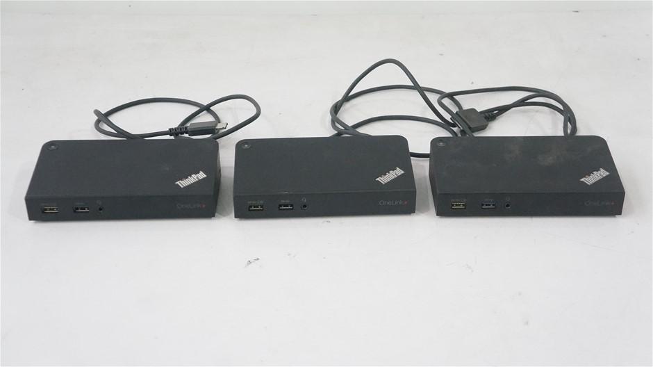 Lenovo DU9047S1 Docking Station (3-Pack)