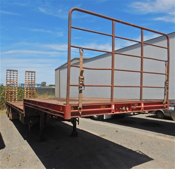2008 Southern Cross 43Ft Triaxle Drop Deck Trailer with Beavertail