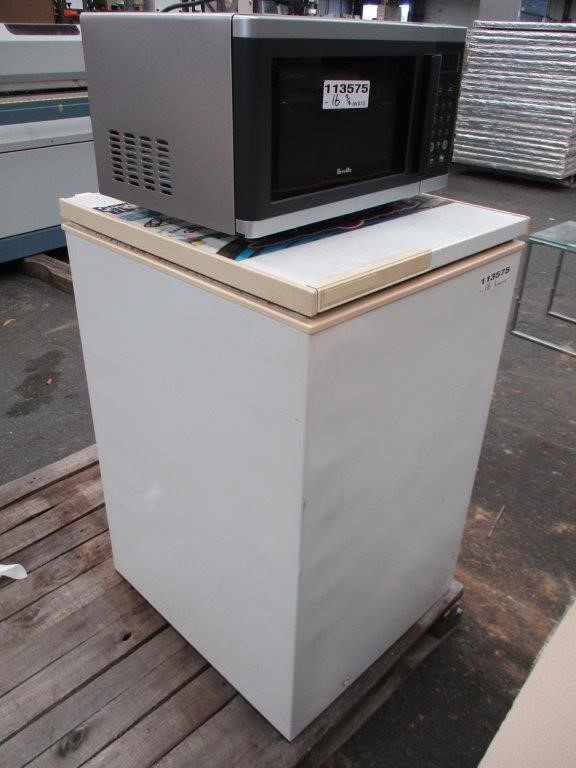 Chest Freezer and Microwave