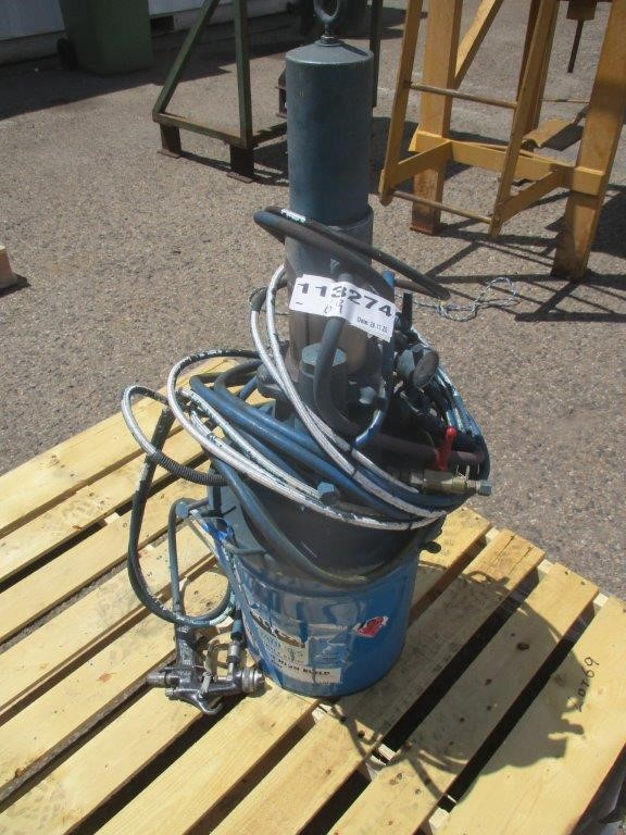 Binks Pneumatic Spray Unit