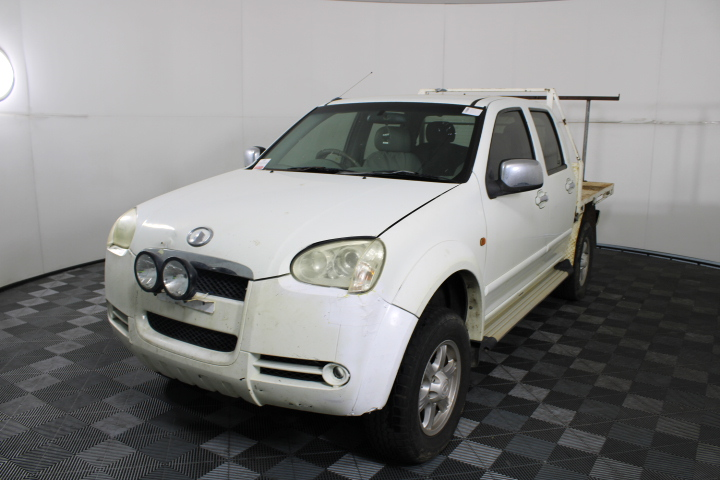 2009 Great Wall V240 4X4 Manual Dual Cab