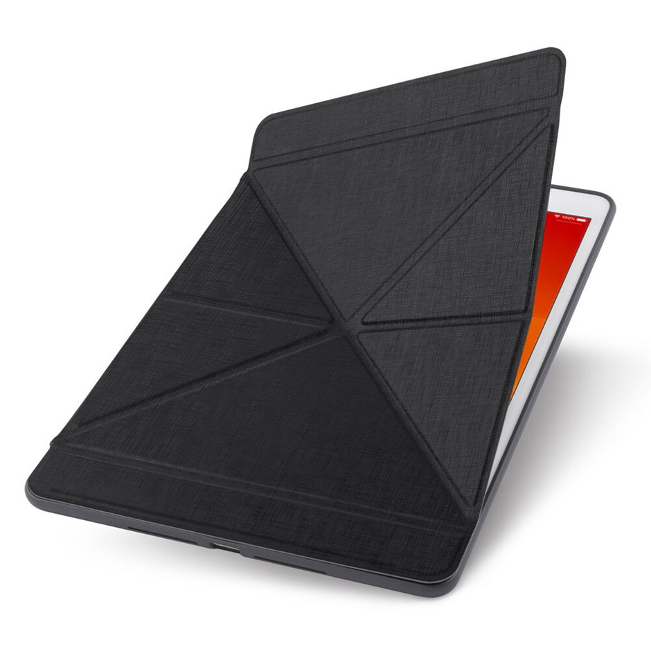 """Moshi VersaCover for iPad 10.2"""" Case w/ Folding Cover & Stand - Black"""