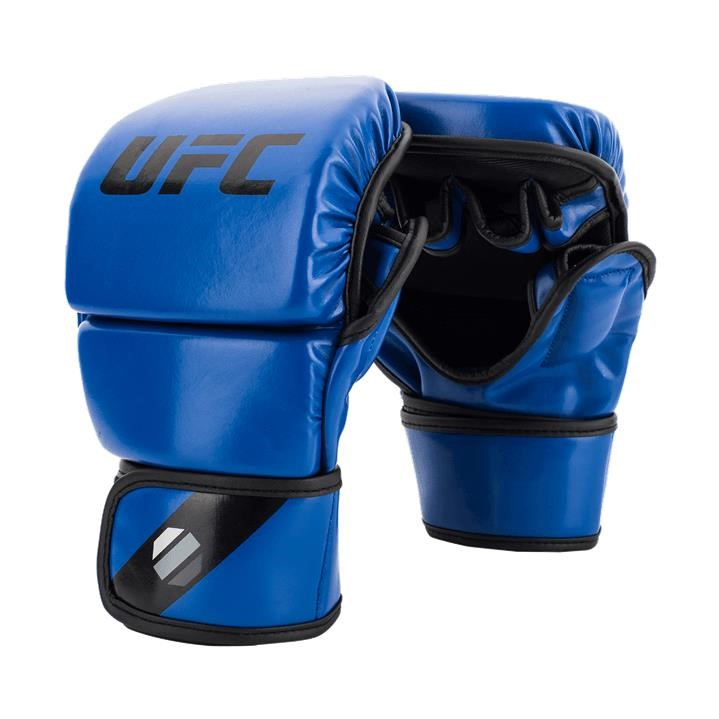 UFC Contender MMA 8oz Sparring Gloves L/XL - Blue