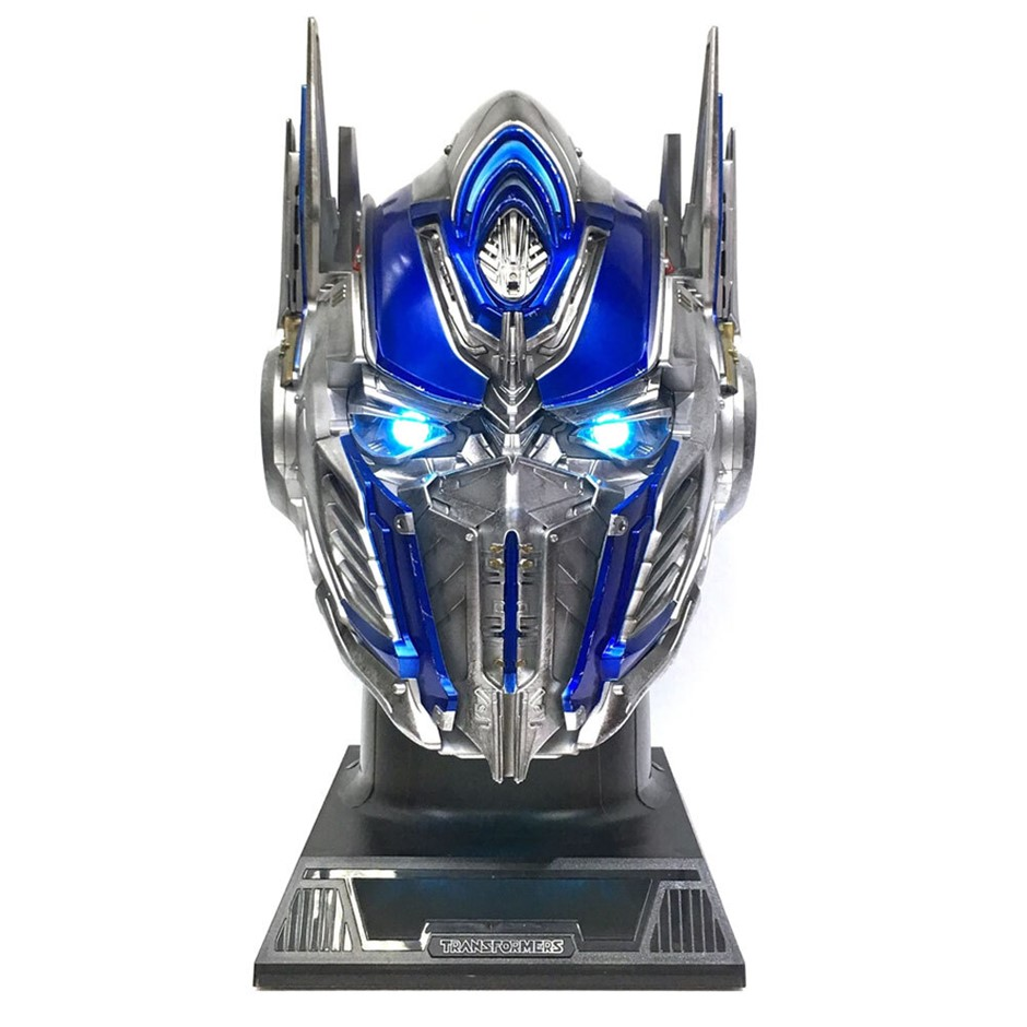 Transformers Optimus Prime Figurative Bluetooth Speaker - Blue/Silver