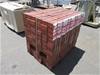 10 x Packs of Heavy Duty Red Paver Bricks