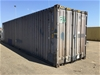 <p><b>40ft high cube shipping container & contents</b></p>