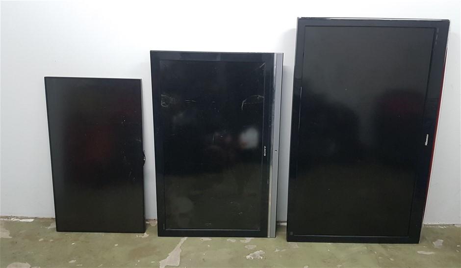 3 x TV's, LG - 42LS75C, Sony - 46WE5, Hisense - HL140V88PZ