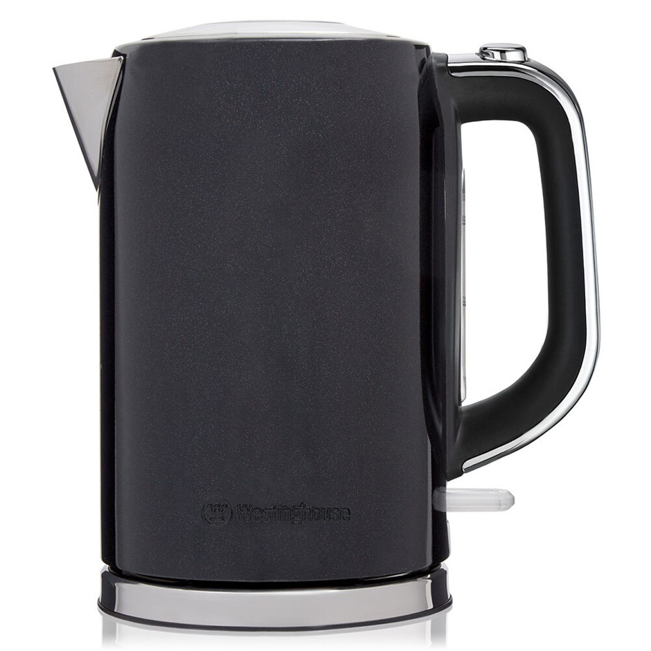 Westinghouse 1.7L 2200W Electric Kettle w/ Rotating Base - Black