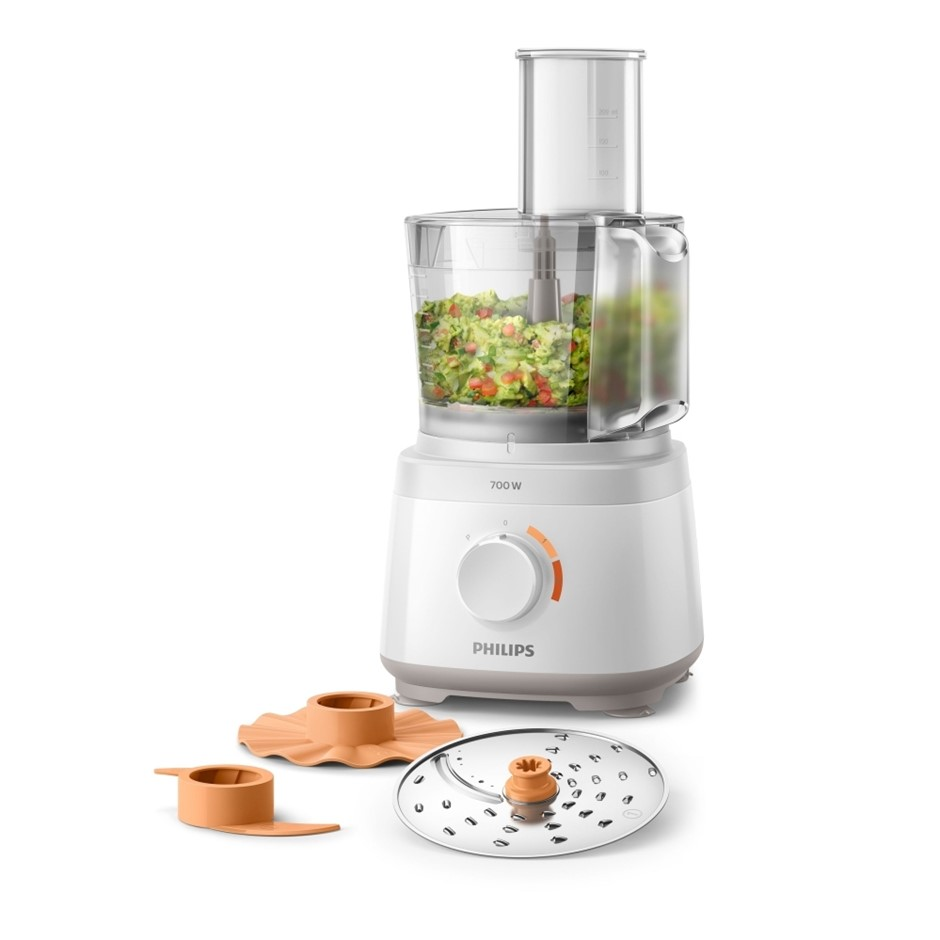 Philips Daily Collection 700W 1.5L Food Processor - White