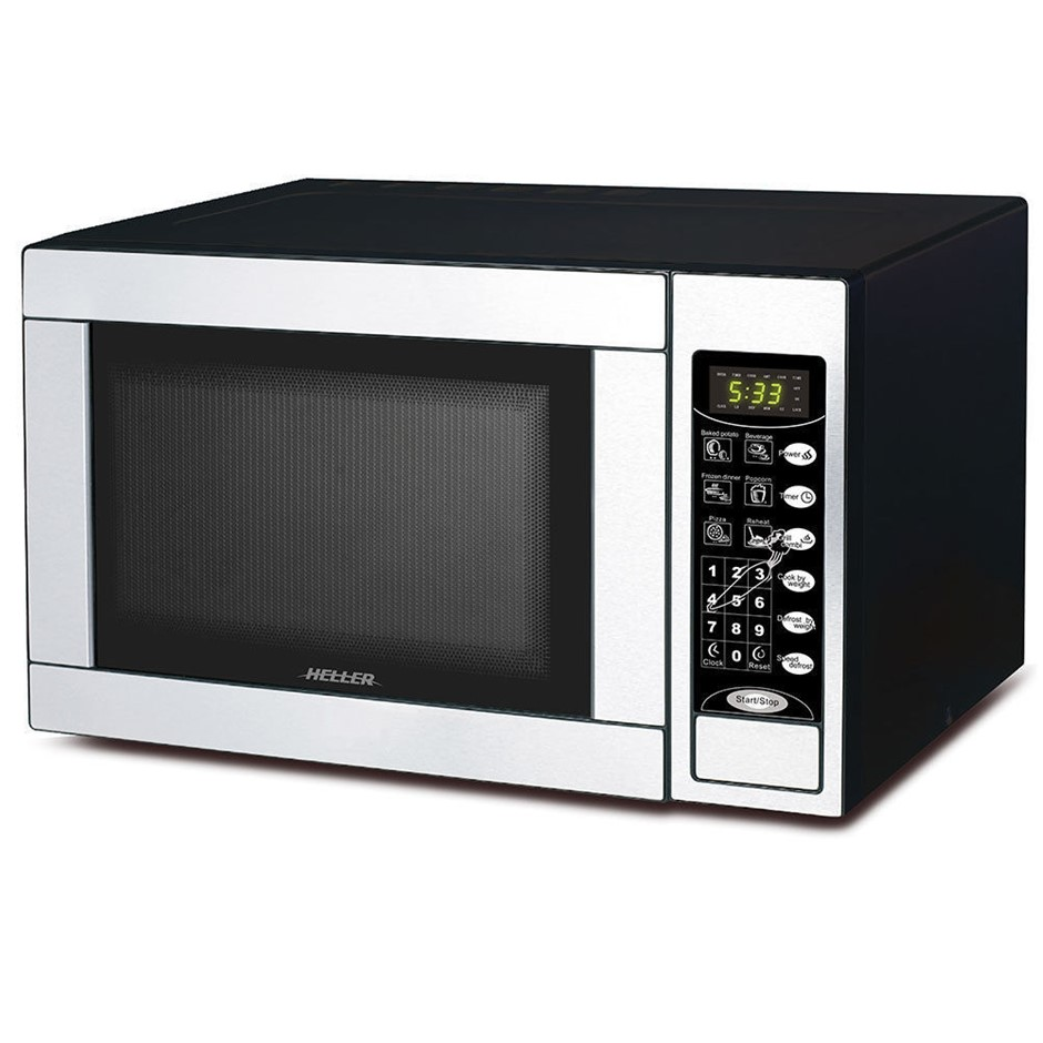 Heller 30L Digital Microwave Oven w/Grill toaster