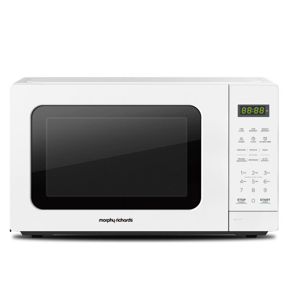 Morphy Richards 20L 750W Microwave - White