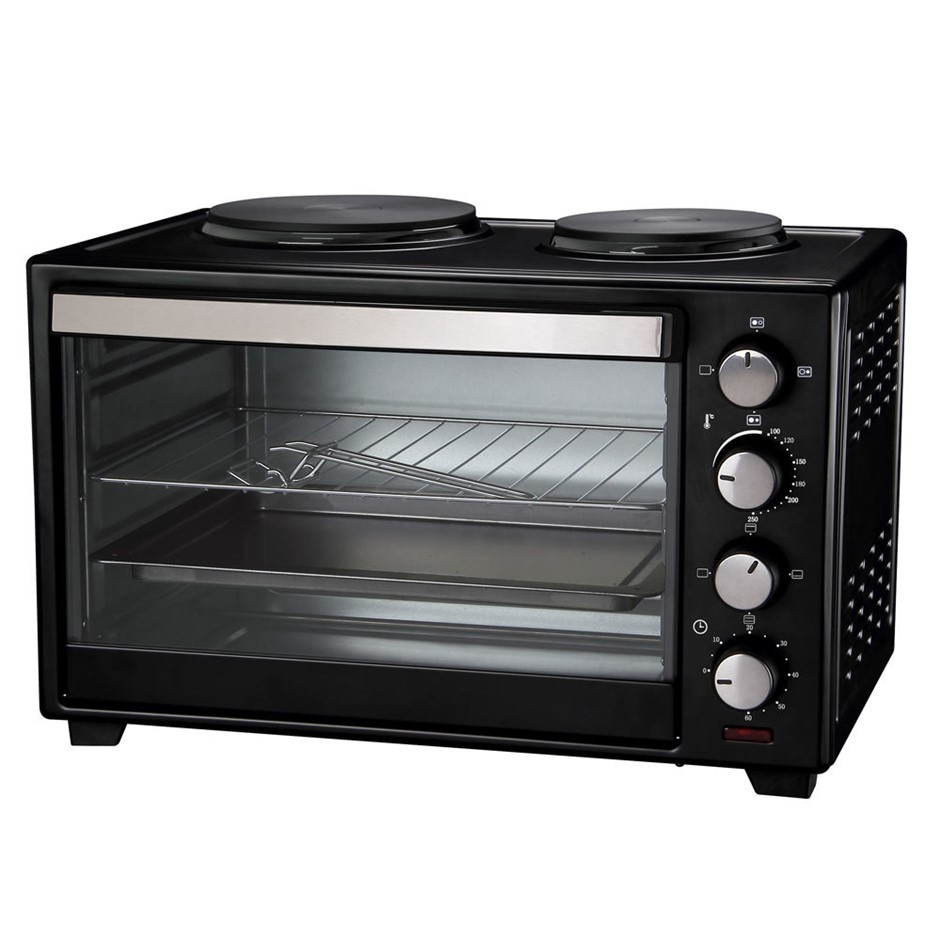 Maxim KitchenPro 30L Oven w/ Hot Plates