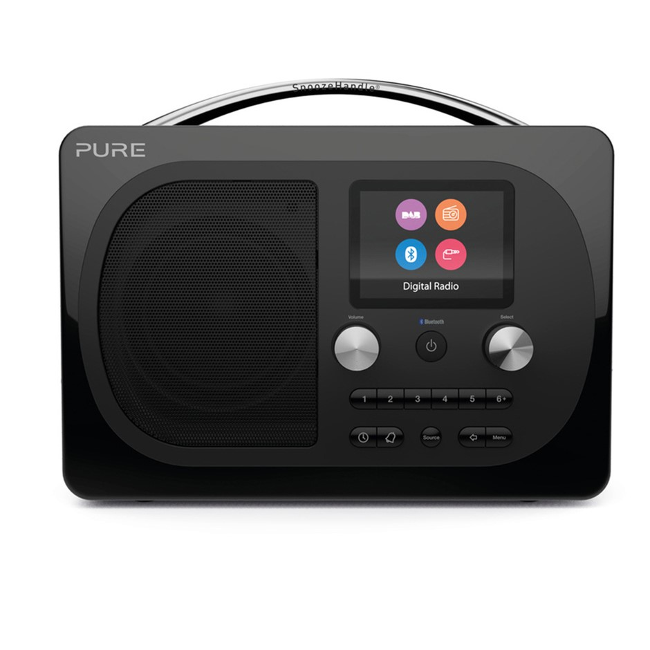 Pure Evoke H4 Prestige Edition Radio - Black