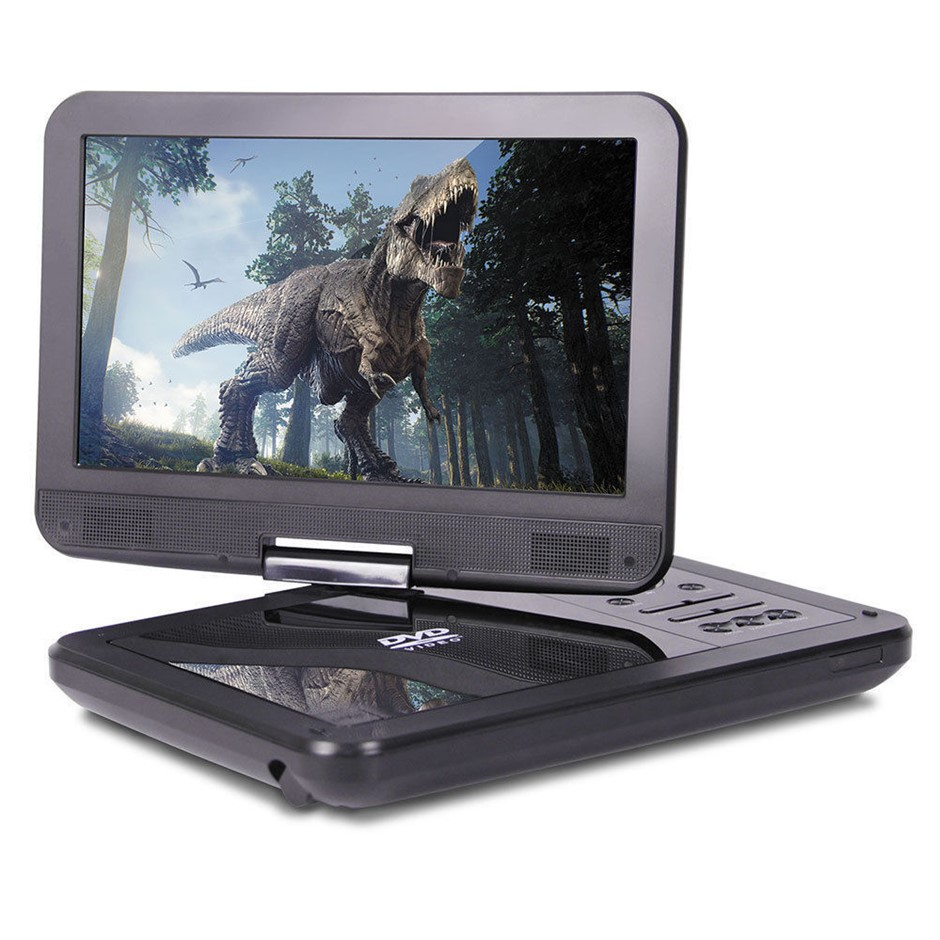 "Laser DVD/USB Player Portable 10"" Screen Multi region/All Region/free zone"
