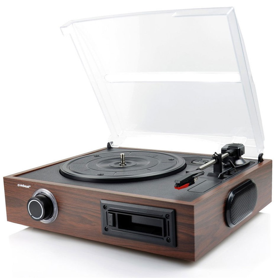 mbeat USB Turntable Vinyl/Cassette to Digital Recorder