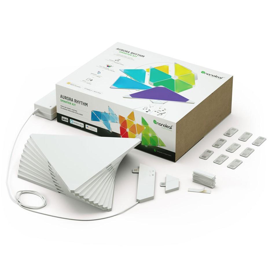 9pc Nanoleaf Light Panels Smarter Kit Rhythm Edition