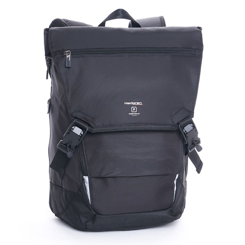 Hedgren Link Joint Black Backpack