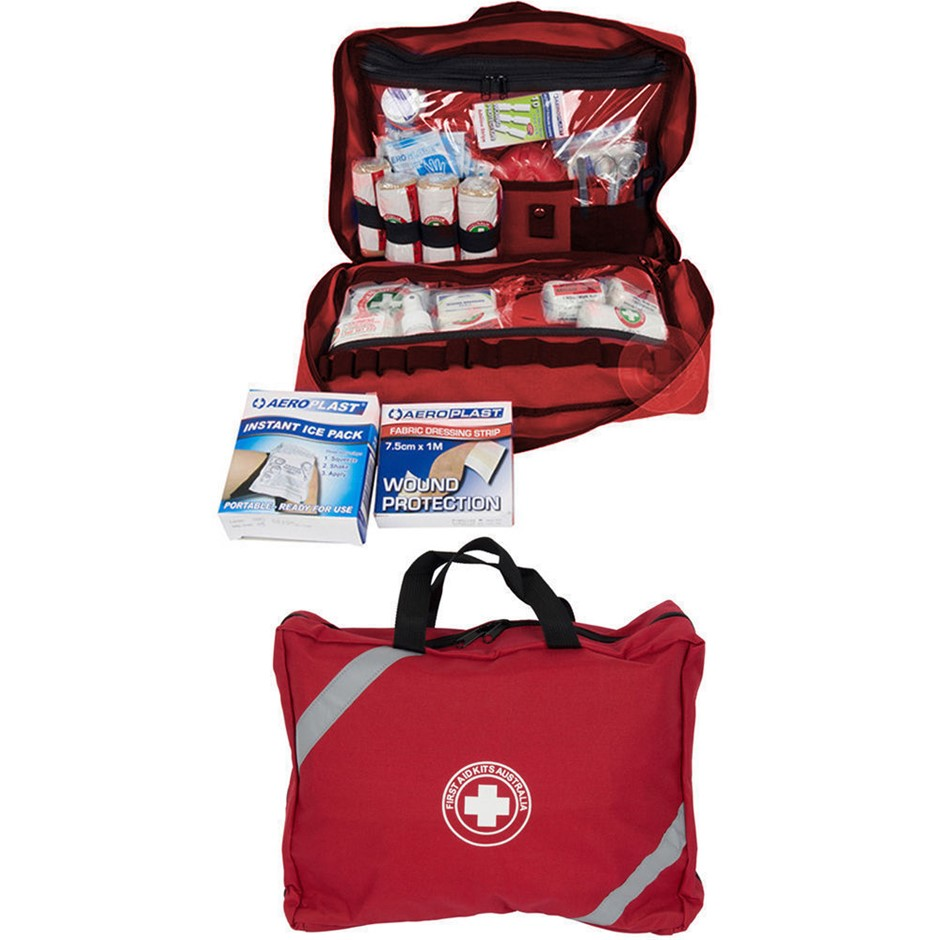 73Pc High Risk/Remote First Aid Kit Treatment Medical Survival Snake Bite
