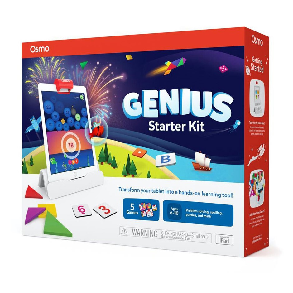 Osmo Genius Starter Kit 5 Games for iPad