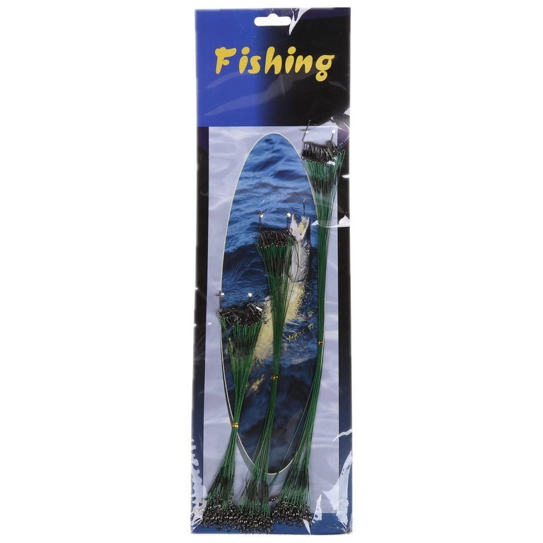 Fishing Trace Set 72pcs, Sizes 15, 22 & 29cm. Buyers Note - Discount Freigh