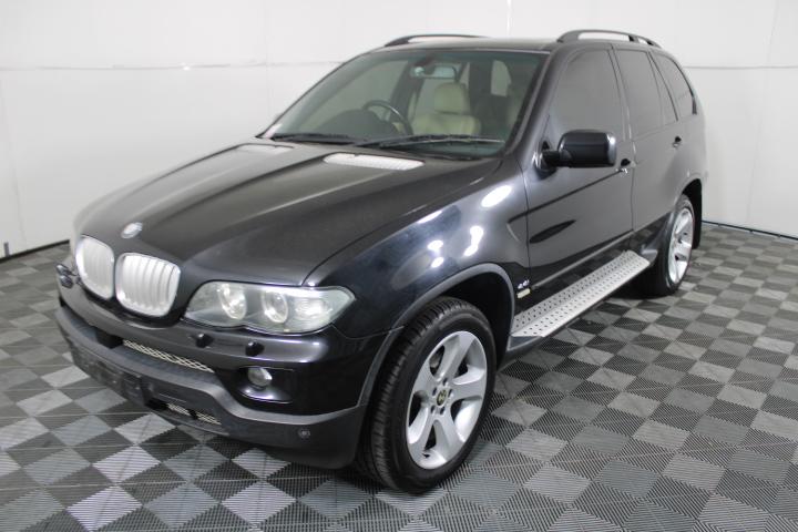 2006 MY07 BMW X5 4.4i E53 Automatic 4WD Sport