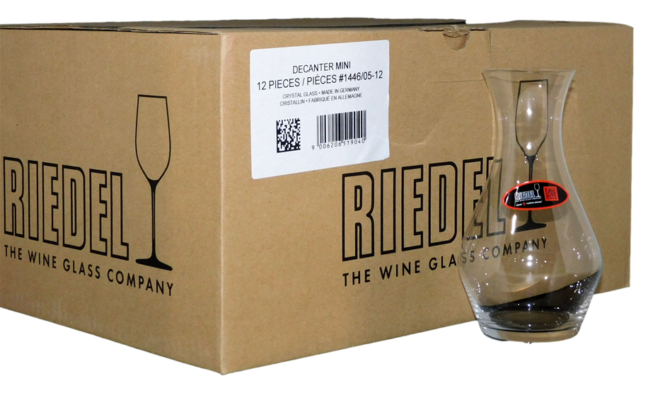 Riedel Crystal Glass Decanter Mini (12 x Decanter)