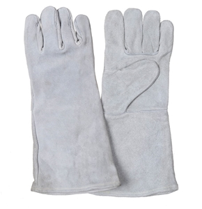 5 Pairs x Chrome Leather Welder`s Gloves