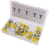 2 x 26pc Key-Type Hose Clamp Assortments Sizes: 10 x 1/2``, 6 x 5/8``, 6 x
