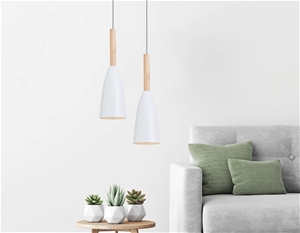 White Pendant Lighting Kitchen Lamp Mode
