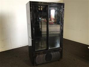 Orford FM30S2-R-A Double Door Fridge